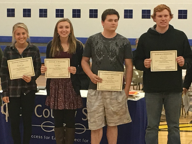 2017 Post-Secondary Scholarship Award Recipients